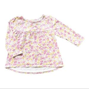 *5/$20* Mothercare Pink Floral Long Sleeve Top